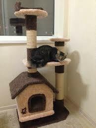 Домик для кошки с когтеточкой новый в упаковке