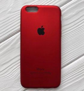 Чехол на iPhone 6/6s красный