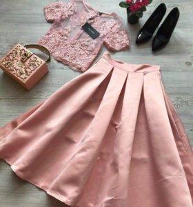 Костюм( юбка и кофта)