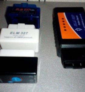 Сканер автомобильный elm327