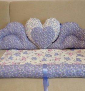 Новый бортик для детской кроватки