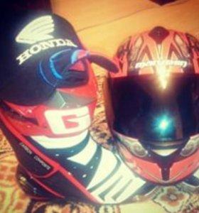 Шлем марушин, мотоботы ( италия)