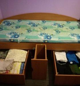 1,5 спальная кровать