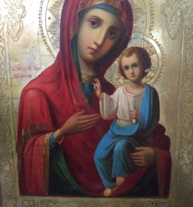 Икона «Иверская Божия Матерь», 19 век