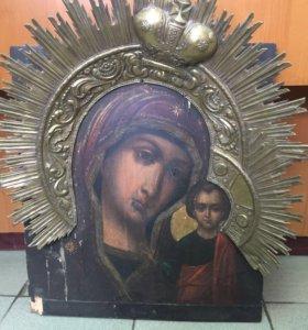 Икона «Казанская Божия Матерь», 19 век