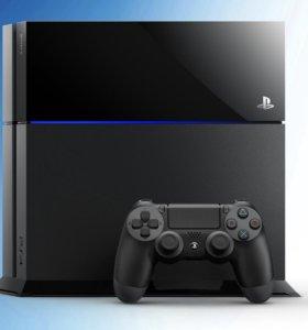 PS4 500gb +FIFA16;Battlefield Hardline