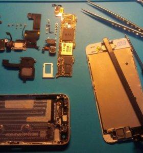 Ремонт телефонов iPhone и планшетов iPad