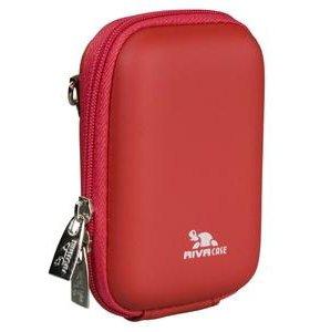 Новая сумка для фотоаппарата Riva 7022 красная