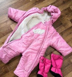 Комбинезон детский зимний (1-1,5 года)