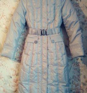 Пальто с  этикеткой на весну 40-44