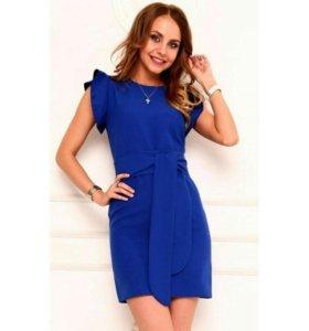 Синее платье. Новое. Торг