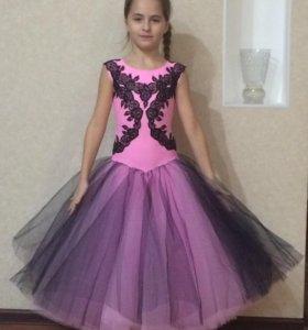 Платье на Стандарт на Юниоры-1