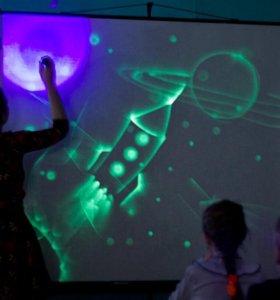Экраны для рисования светом и шоу световых картин
