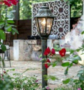 Уличное , садовое освещение.