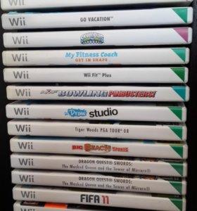 Продам или поменяю игры Nintendo Wii