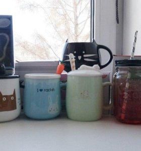 Термосы, кружки, бутылочки для воды