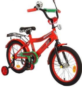 """Велосипед 16""""GRAFFITI Premium Racer, 2016, красный"""