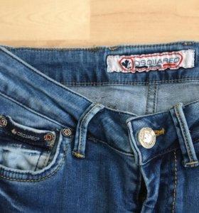 Dsquared джинсы skinny 27/32