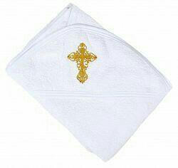 Полотенце детское крестильное новое