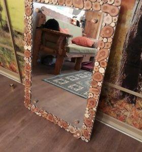 Изготовление рамки для зеркала