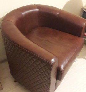 Кресло коженое!