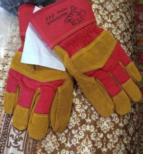 Перчатки утепленые от мех.воздействии