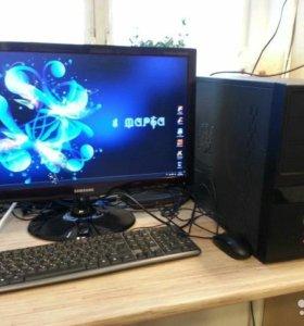 Game PC/Игровой компьютер GTX 1050ti/ intel i5