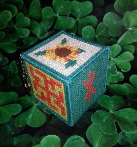 Славянский оберег кубик- ЗДОРОВЬЯ🍀