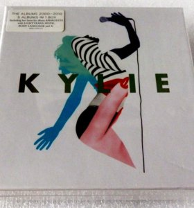 KYLIE MINOQUE - 5 CD Albums in 1 Box-Set