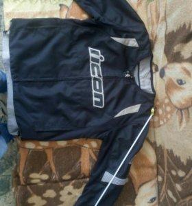 Куртка текстиль Айкон Оверлоад оригинальная с защи