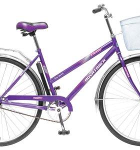 """Велосипед 28"""" NOVATRACK Lady Fiesta,фиолетовый 18"""""""