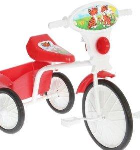 """Велосипед трехколесный """"Малыш"""" 05, красный"""