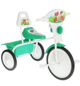 """Велосипед трехколесный """"Малыш"""" 06, зеленый"""
