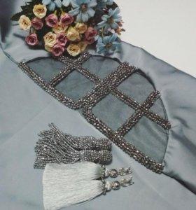 Платки, серьги оскар, браслеты, тики