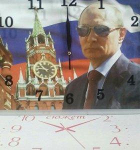 """Часы настенные """" сюжет"""""""
