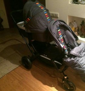 Детская коляска для погодок/ двойни FD Design Zoom