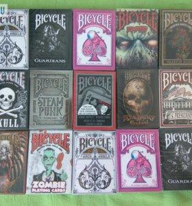 Дизайнерские игральные карты Bicycle, оригинал США