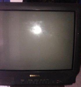 Телевизор Сокол на запчасти