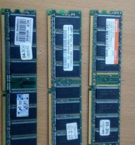 Оперативная память на 256MB DDR 400MHz CL3