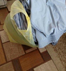 Пакет мужской верхней одежды, больших размеров