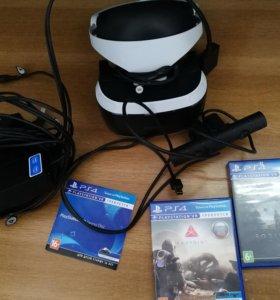 PlayStation VR для PS4/4Slim/4Pro