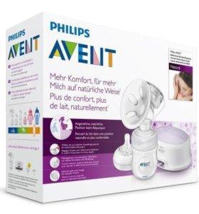 Новый молокоотсос электрический Philips Avent
