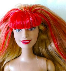 Барби ракель с красными волосами