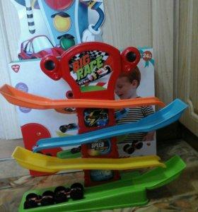 Трек автомобильный zig zag racer PlayGo