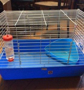 Клетка для грызунов кроликов шиншилл большая