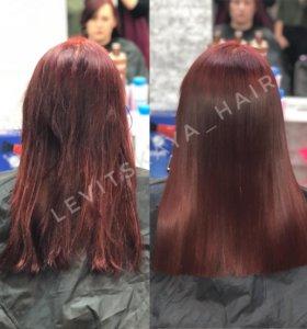 Полировка для волос 🌹