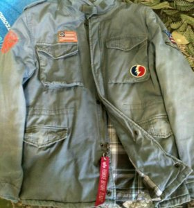 Alpha industries love and peace