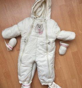 Детский зимний комбинезон Sno Katt