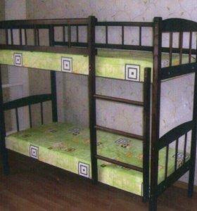 Двухъярусные кровати от производителя