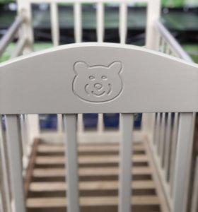 Детские кроватки «Мишка» от производителя